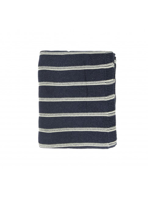 Cotton Knit Barbs Throw
