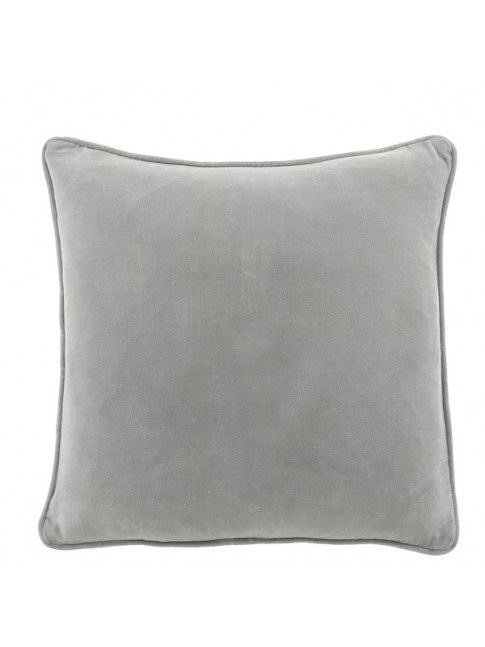 Beau Cushion Pale Grey 50cm x 50cm