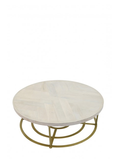 AVISA LOTUS Coffee Table - 98x9x98cm