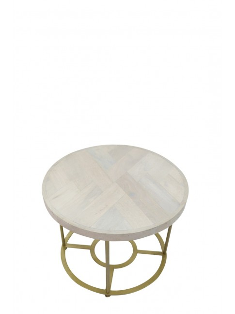 AVISA LOTUS Side Table - 69x9x68cm