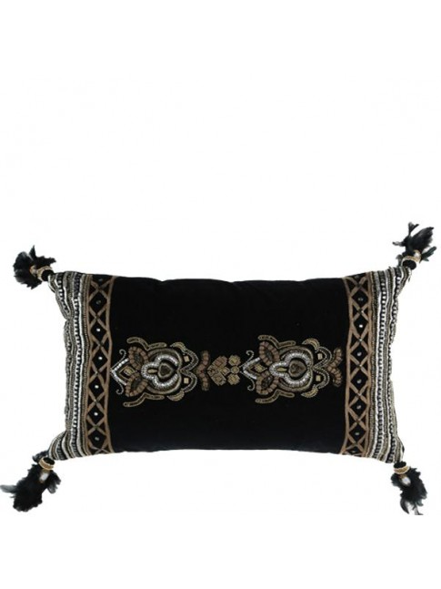 Z Sale Hand Beaded Mishti Cushion