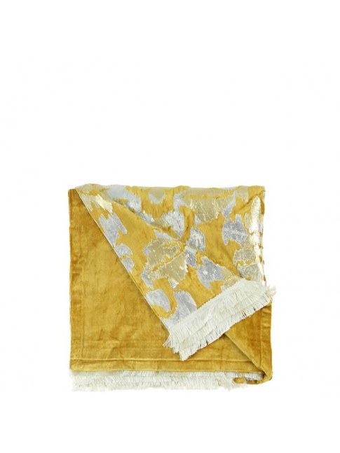 Fleur Throw Yellow