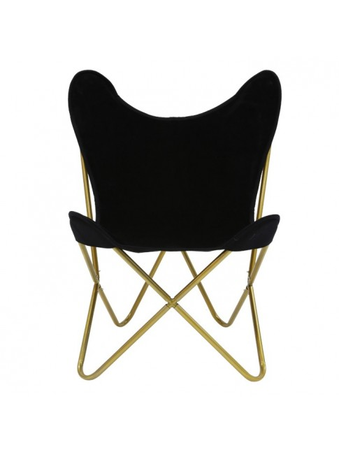 Beau Butterfly Chair Gold Base