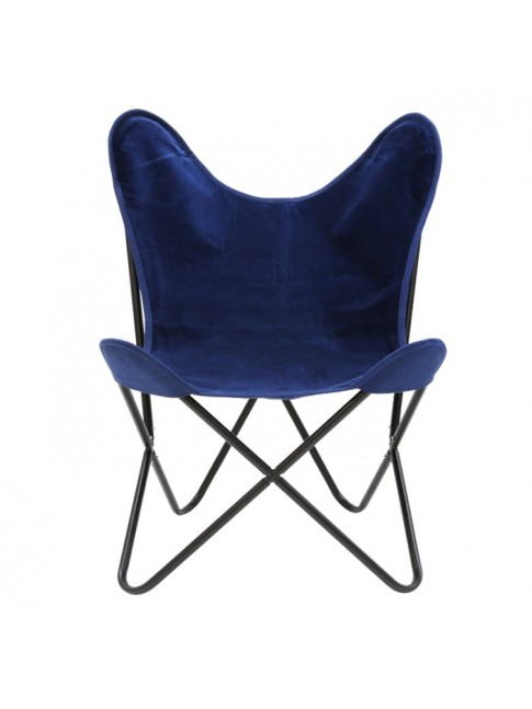 Beau Butterfly Chair Black Base