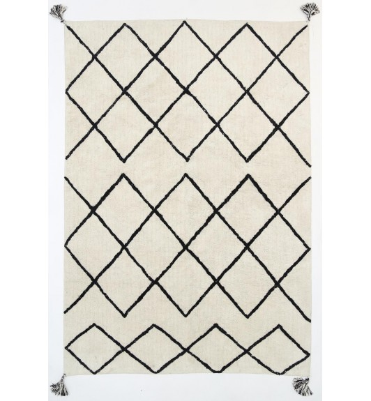 Kochela Diamond Black Rug Love That Homewares