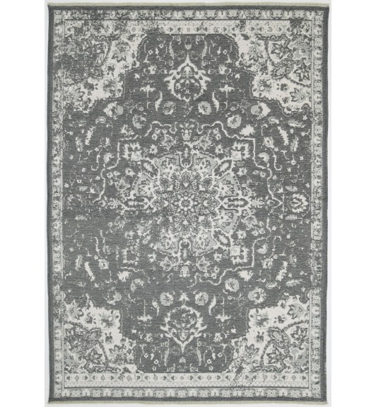 Rustic Madallion Rug Grey Love That Homewares