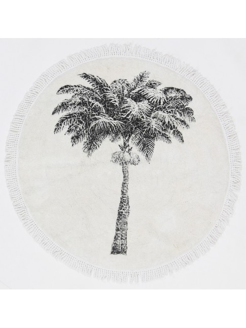 Palm Splash Mat - Cotton