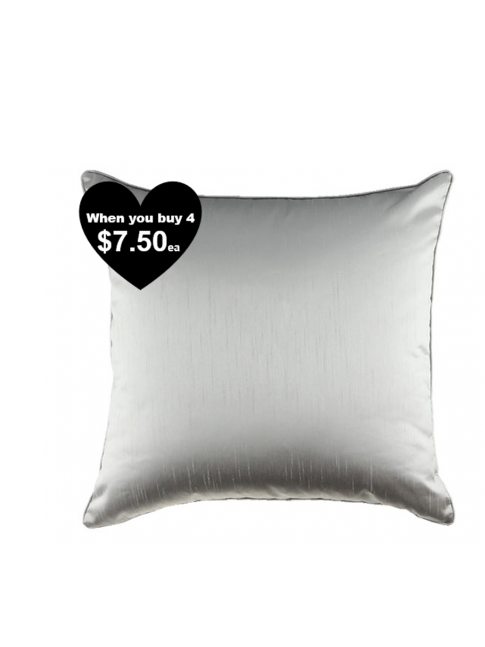 BLACK TIE CUSHION BLACK 45x45cm