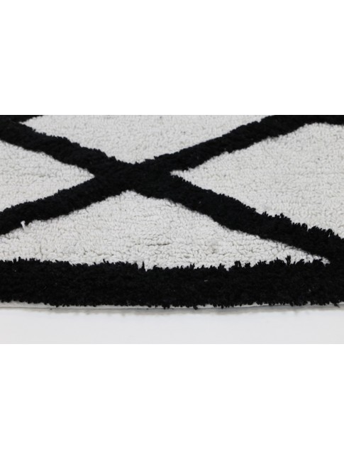 Mila Black & White Spalsh Mat
