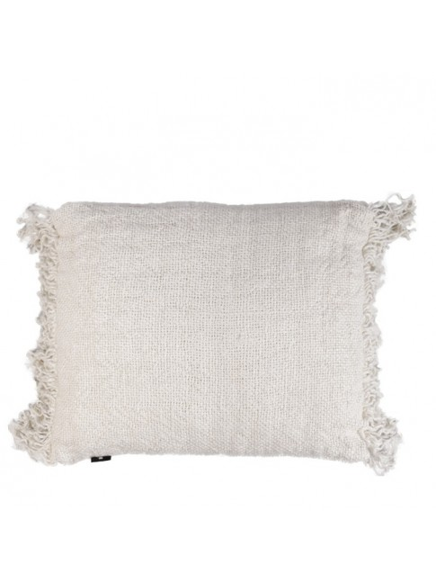 FLAX White Cushion 50 x 60cm
