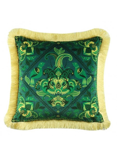 ZZZ Sale Eden Cushion Green Yellow