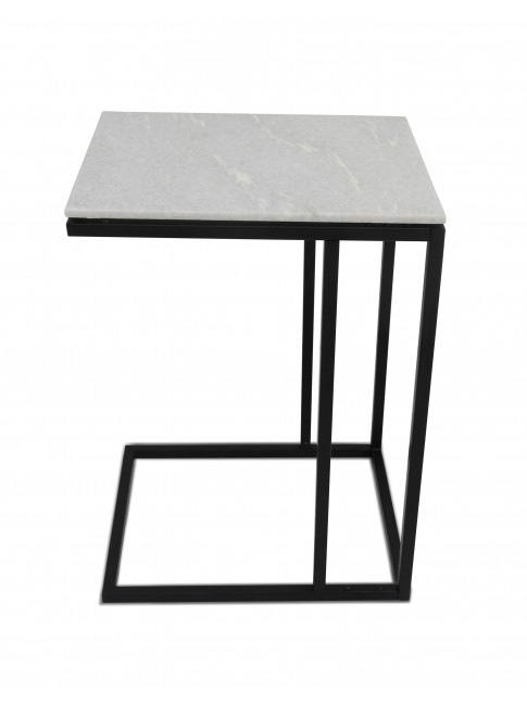 Tom Laptop Table Black White