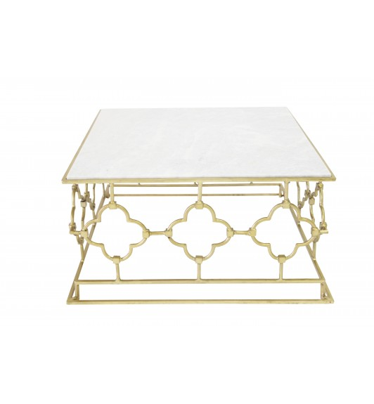 Stella Iron Square Coffee Table