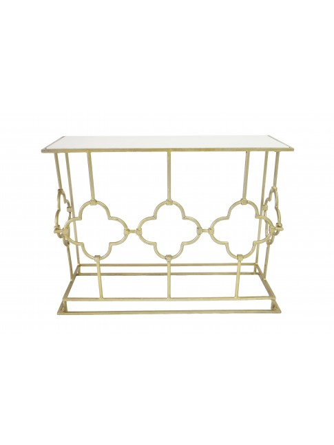 Stella Iron Rectangle Console Table