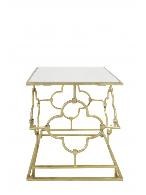 Stella Iron Rectangle Side Table