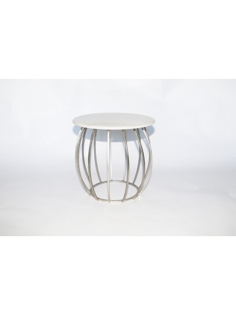 Amelia Side Table Sliver