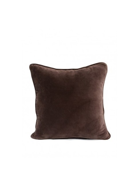 Beau Brown Velvet Cushion